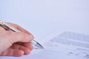 חתימה על הסכם בניית אתר